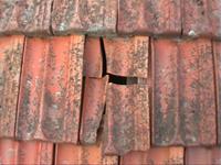Roof Restoration - replace broken tiles